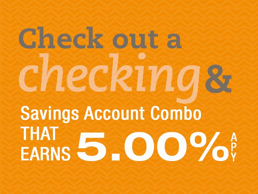 Check out a checking and savings account combo that earns 5.00% APY